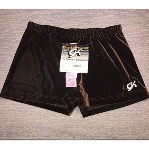 Adult XL GK Elite Brown Bike Shorts NWT!